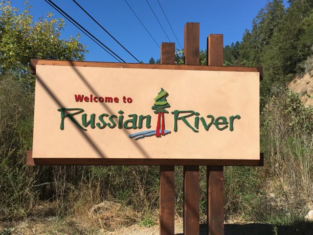 "this sign is well built with huge timbers, a faux finished and resined MDO face and 1/2"" plex letters"