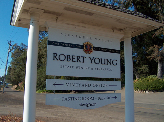 Robert Young front sign with 1/2