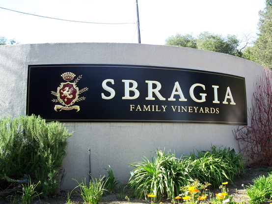 Sbragia 3D letters and crest with 23K gold leaf on aluminum...this picture does not do it justice