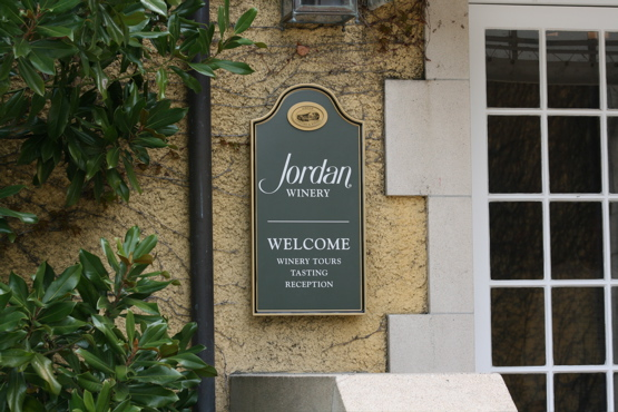 Jordan wall sign is aluminum with a 